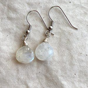 Moonstone Briolette Earrings
